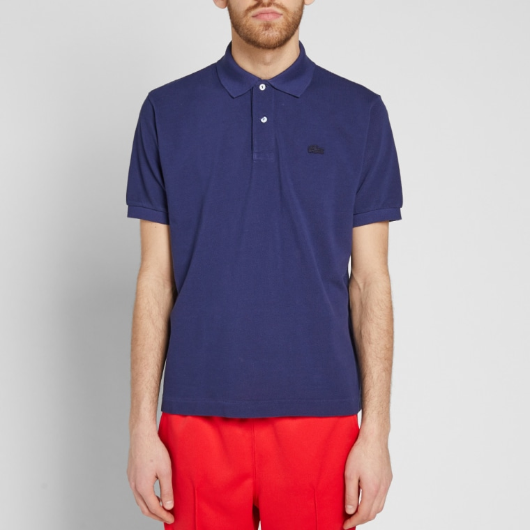 Lacoste logo polo shirt - Blue Junya Watanabe Affordable Online Clearance Free Shipping Discounts Largest Supplier Cheap Sale For Nice 6OuKASx46