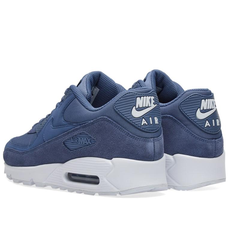 Nike Sportswear AIR MAX 90 ESSENTIAL - Trainers - diffused blue/white fiIWEX