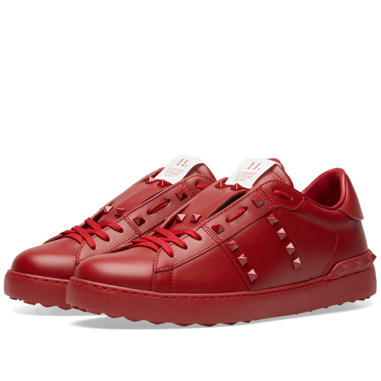 Red Untitled sneaker Valentino rnPFeoup9F