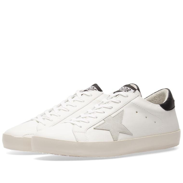 Oie D'or De Luxe Marque Chaussures De Sport En Cuir « Superstar » - Blanc TmbLNSu