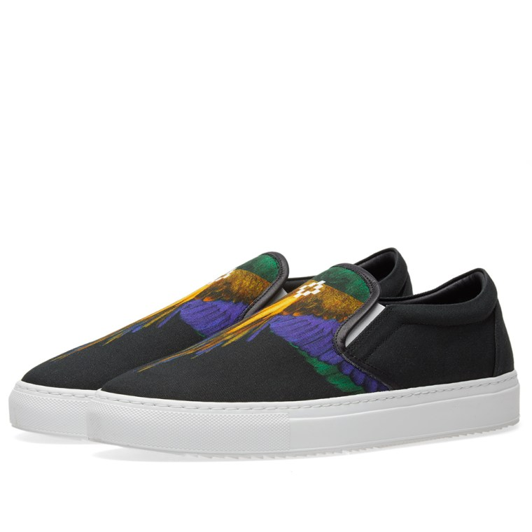 Sale Shop Wings slip-on sneakers - Black Marcelo Burlon Buy Cheap With Paypal Reliable Sale Online pKV9N4v