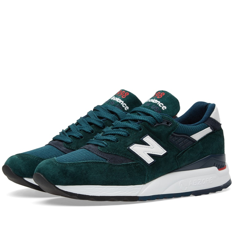 Green Shoes New Balance 998