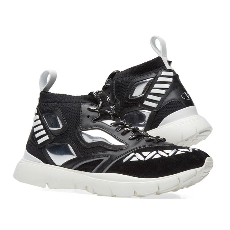 Black heroes reflex sneakers Valentino 3Ryig