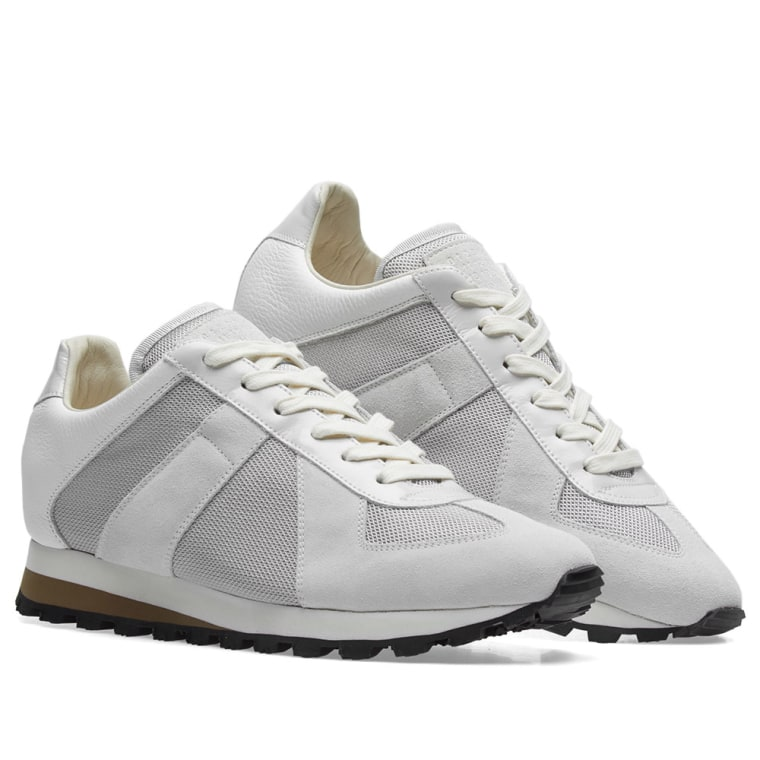 Maison Margiela Mesh Runners - Grey tp1KxvsdS