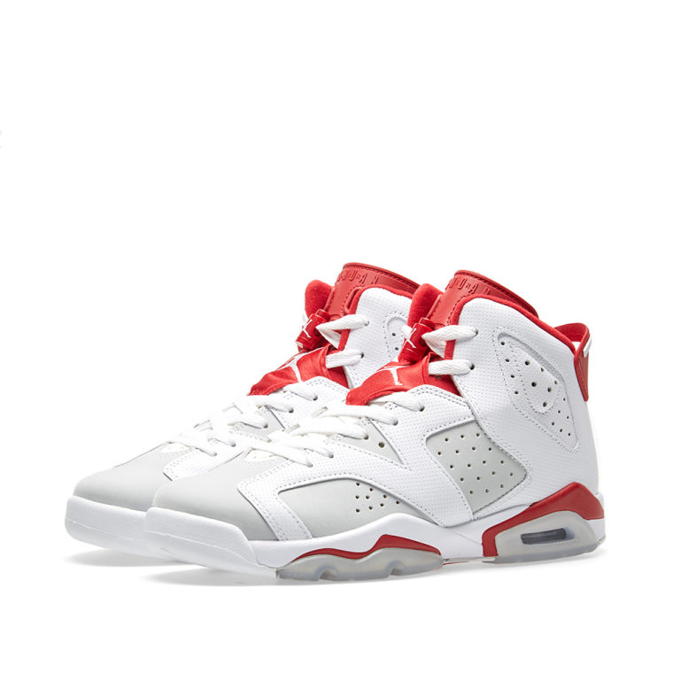 Air Jordan 6 Retro Bg (gs) 'alternative' - 384665-113 - Size 6 2014 unisexe rabais 8rFhkLRmg1