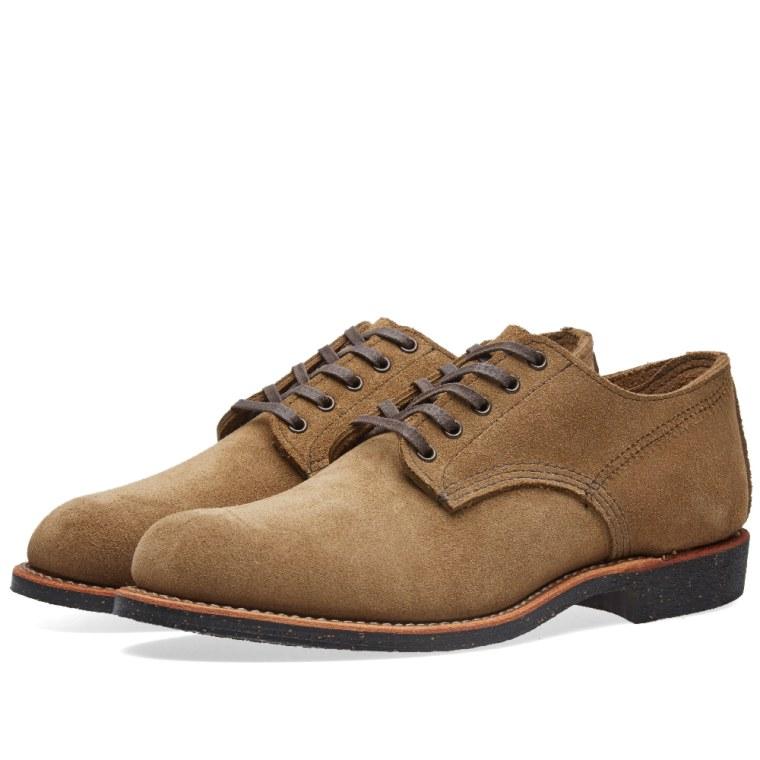 Aile Rouge Mens Marchand Oxford 8043 Chaussures En Daim Olive 45 Eu réduction eastbay dPYOtG