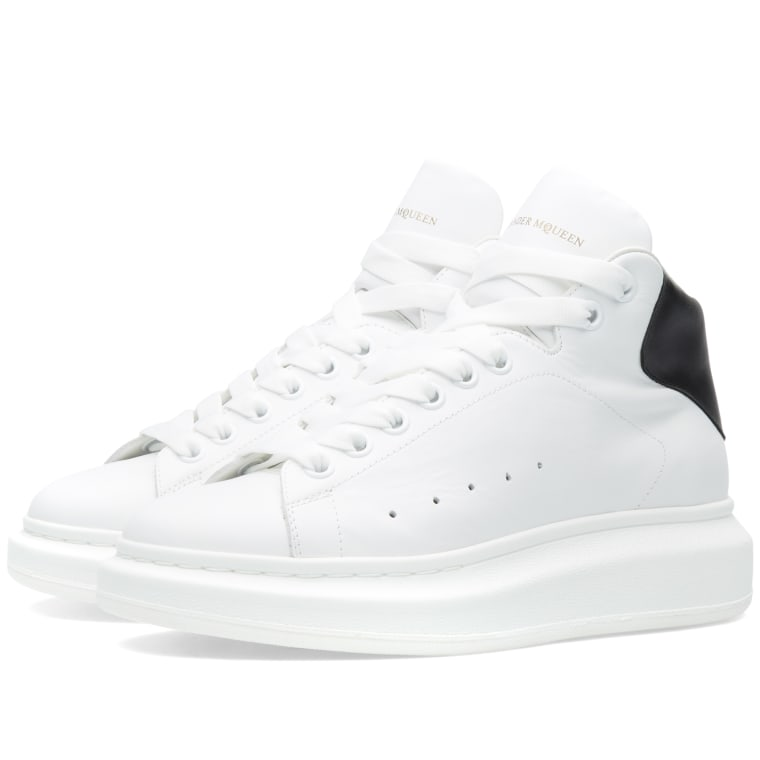 high top oversized sneakers - White Alexander McQueen w3p1TX