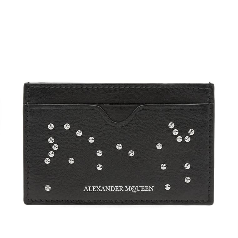 skull motif cardholder - Black Alexander McQueen 5b0upWjahJ