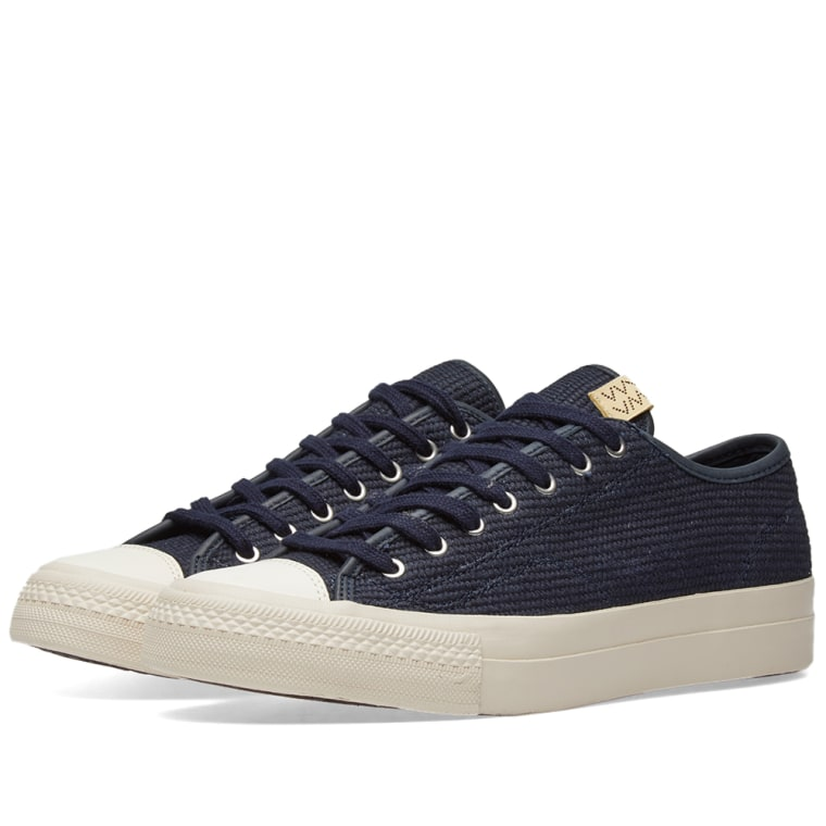 VISVIMNavy Skagway Lo Dogi Sneakers veSz0t4