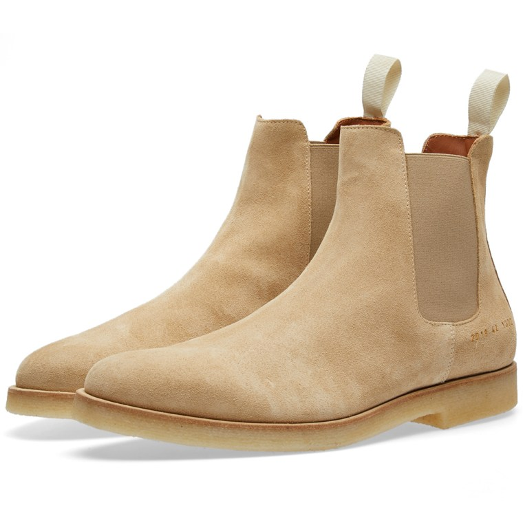 Suede Chelsea Boots - SandCommon Projects omoXA