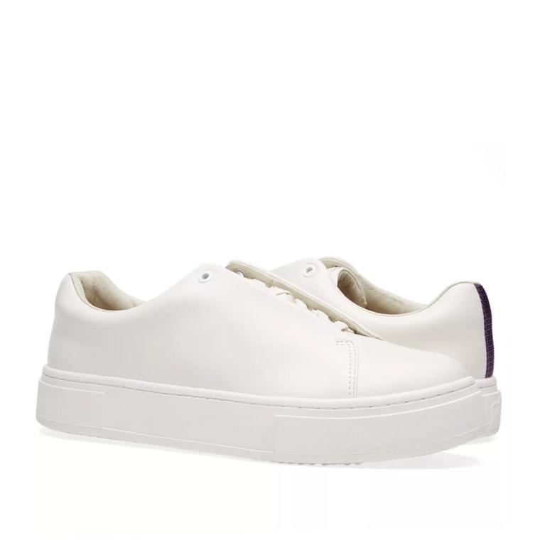 Eytys Chaussures De Sport En Cuir Blanc Doja gaN2V0cda
