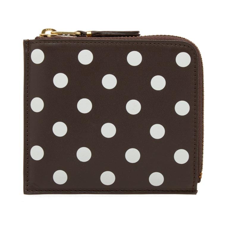 polka dot small wallet - Metallic Comme Des Gar?ons dnHdJlPW
