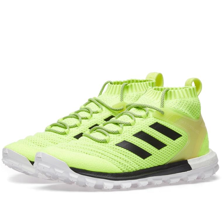 Gosha Rubchinskiy Yellow adidas Originals Edition Copa Mid PK Sneakers u2jYjgF