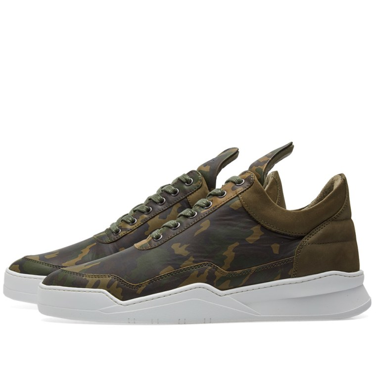 cheap sale best store to get Filling Pieces low-top camouflage sneakers cheap sale latest collections largest supplier online 0yLu4