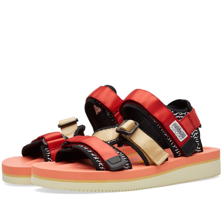 Red Kisee-V sandal Suicoke EMNBSxK
