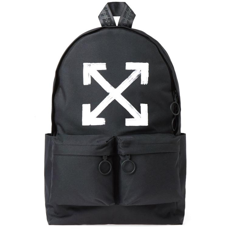 Canvas backpack Off-white HKVR3U