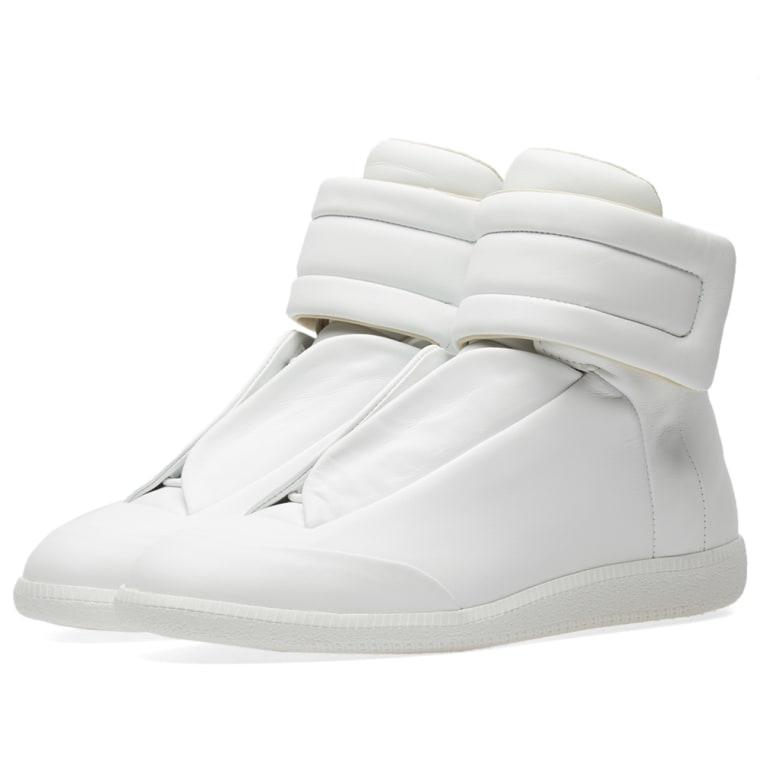 Maison 'avenir' Margiela Baskets Salut-top - Blanc C5btj9