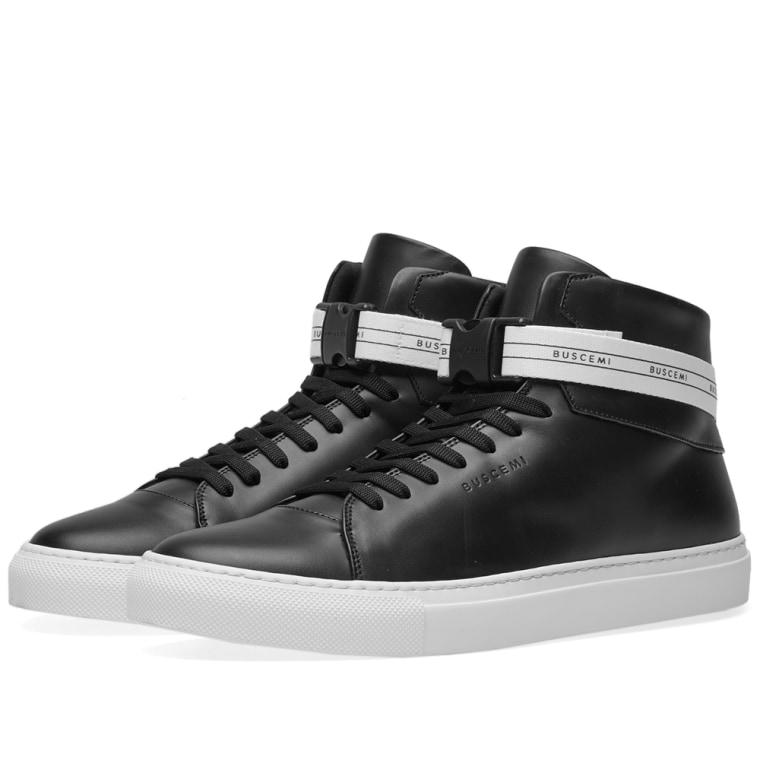 100mm Sport sneakers - Black Buscemi LdrstYyCr