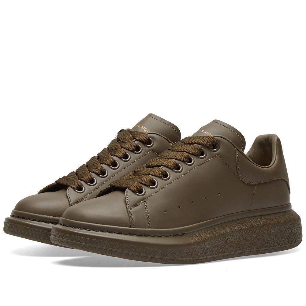 Sole KhakiEND Alexander Wedge McQueen Sneaker W2IeEDH9Y