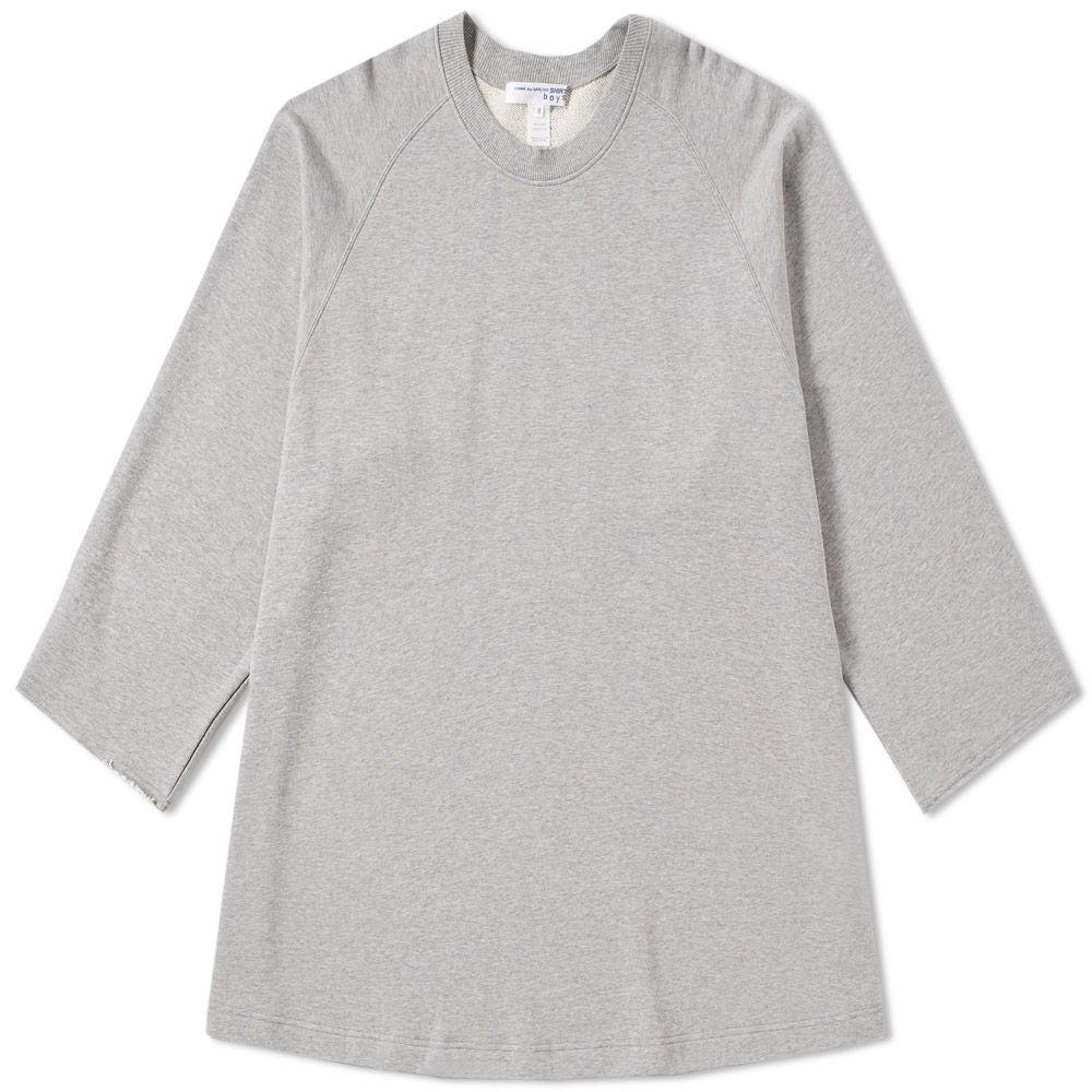 Garcons Comme tamaño Crew de Camiseta logo con Chicos gran Sweat Des UEgnwRqO