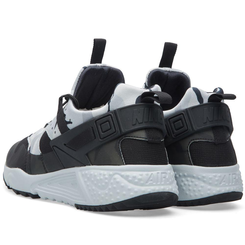 amp; Nike Utility Air Huarache Black Platinum End Pure qrrXPwU