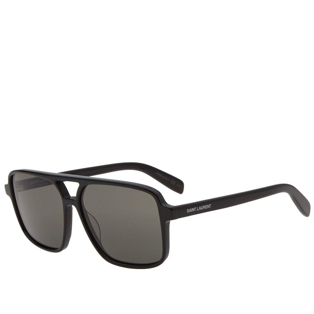 End amp; Sl Sunglasses Black Grey 176 Saint Laurent 6v41HH