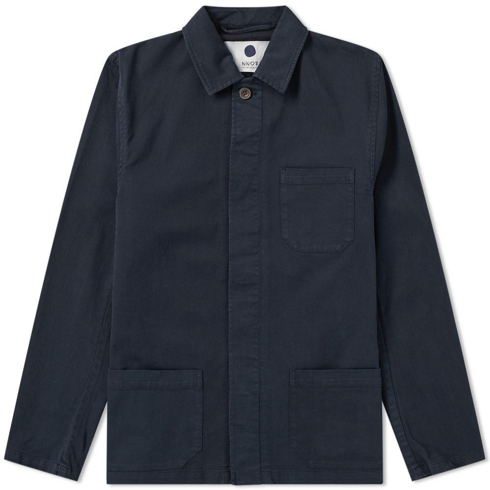 End Garment Navy Nn07 Blue Dyed Jacket Chore Oscar xn8Onf0wqA