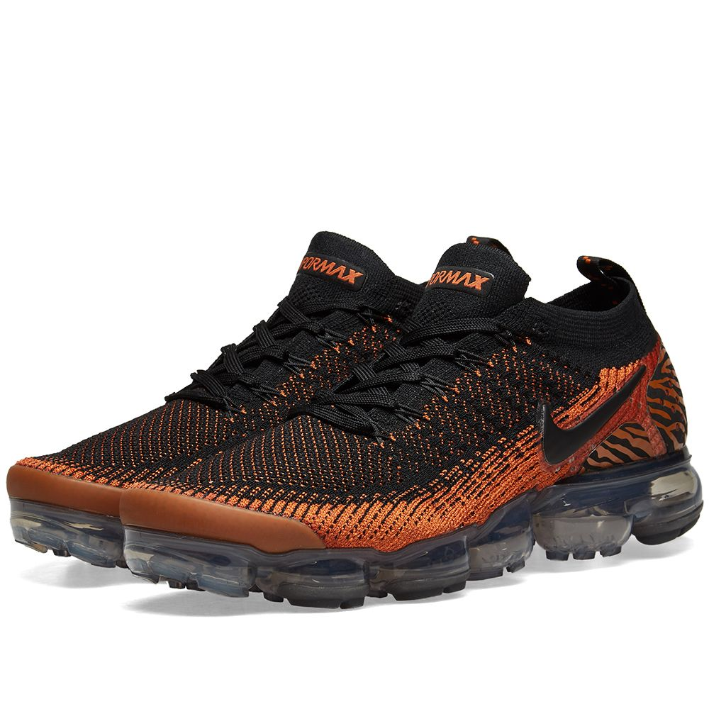 Vapormax End Flyknit Black Orange Nike Desert 2 amp; daT0wq