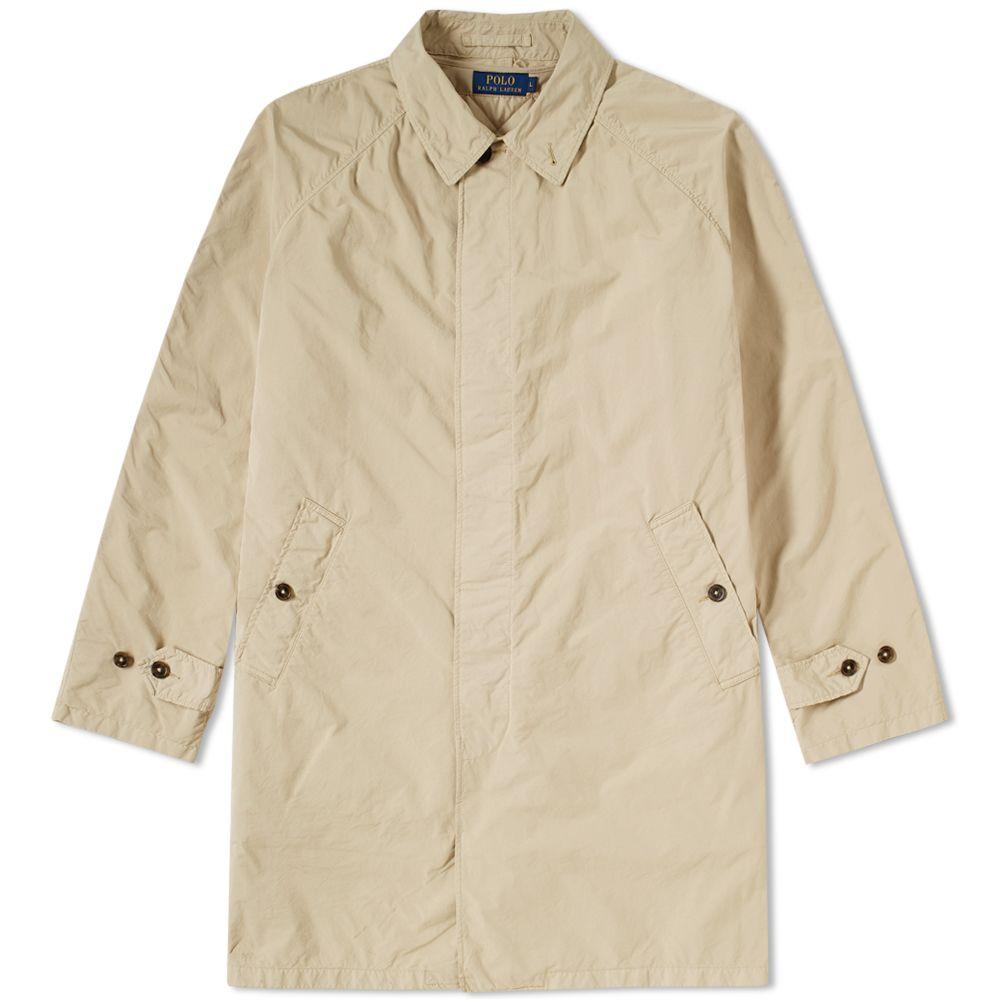 Trench Polo Garment Dyed Lauren Coat Ralph 3JFlKcT1