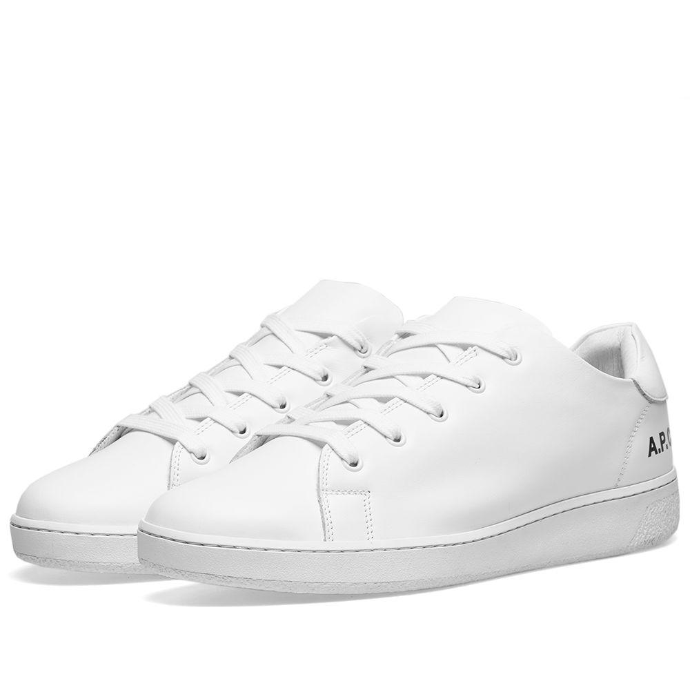 CMinimal Sneaker WhiteEND P A Leather GSVUzqMp