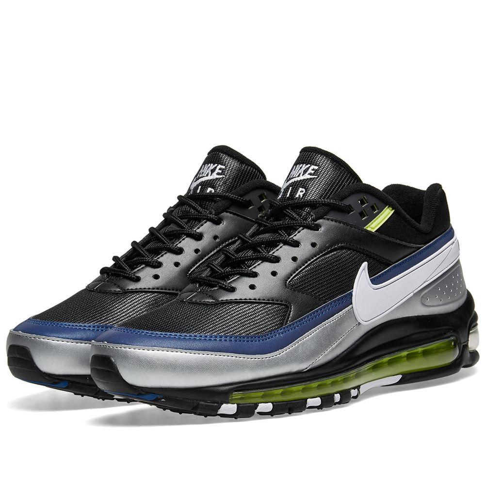 Air BlackWhiteamp; SilverEnd Bw 97 Nike Metallic Max 0O8nPwk