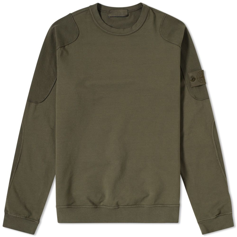 Green Crew Military Piece Sweat Stone End Island Ghost PqwnSB