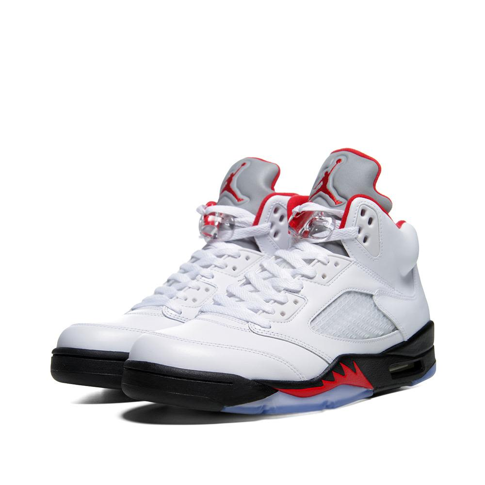 Jordan Air V Whiteamp; RedEnd Nike Retro Fire Gs sQrtChd