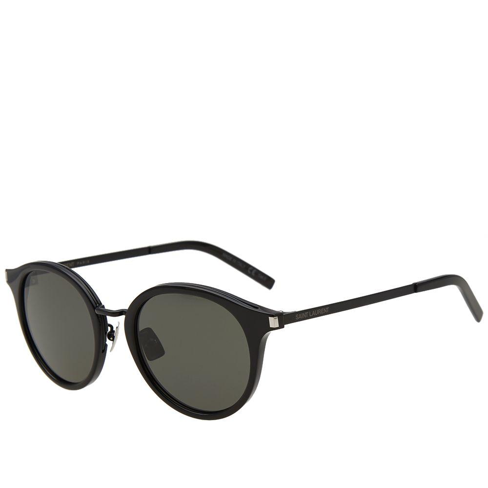 Grey amp; End Sunglasses 57 Black Saint Sl Laurent aqwSF