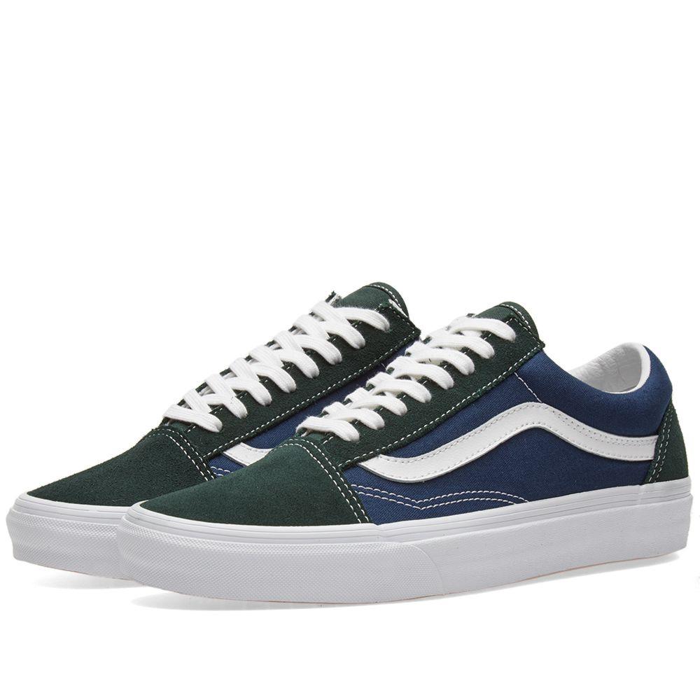 Scarab amp; End Skool Vans Old Blue Dress 8t74Eqw
