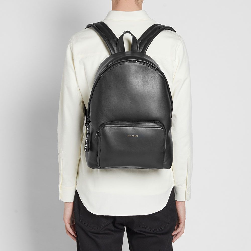 Black Backpack Axel Leather Arigato End 5EwqPUw