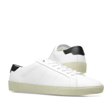 06 Black Saint Laurent End Sl Sneaker amp; White q8EY8Z6