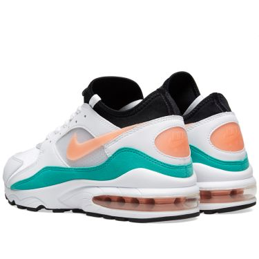 newest a8687 87931 Bliss End  miami  93 Kinetic White Nike amp  Green Air Max XqB7T7gzw