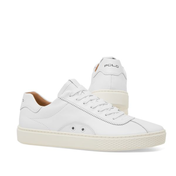 Sneaker 100 Luxe Ralph Lauren Court Polo fgyvbY76