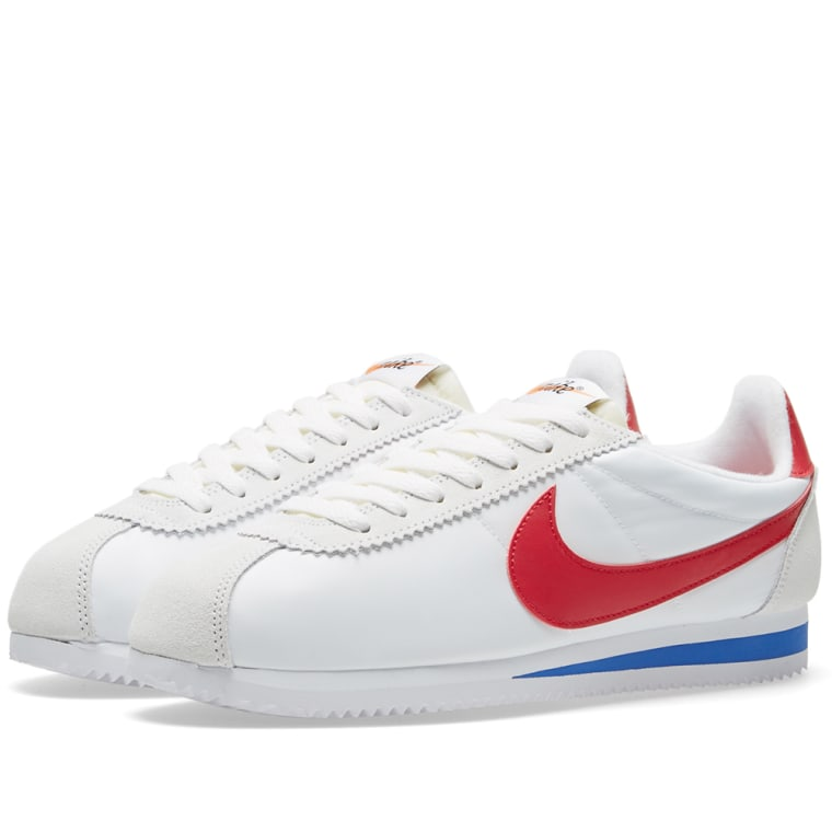 CLASSIC CORTEZ - Sneaker low - white/varsity red/varsity royal Offizielle Seite Verkauf Online E13ivCM