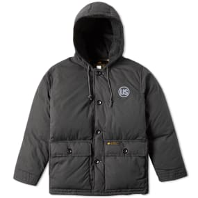 Neighborhood U.S. Military Down Jacket (Black) | END.