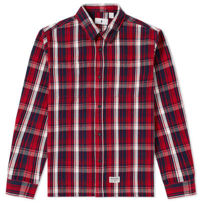 Undefeated end for Heavy plaid flannel shirt