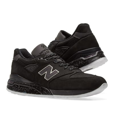 new balance black. new balance m998abk - made in the usa black