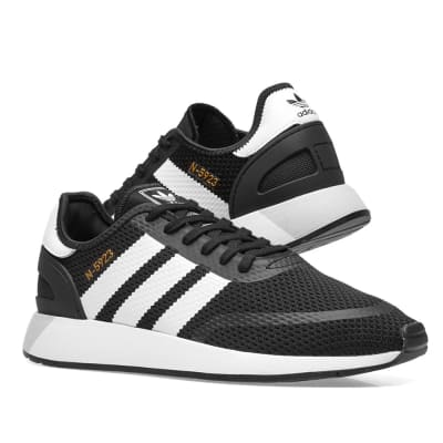 Adidas N-5923 Black, White \u0026 Grey One
