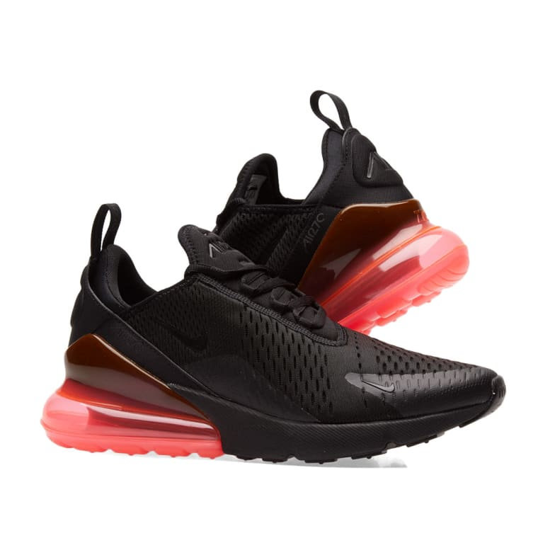 10e30c33da363 ... hot nike air max 270 black hot punch 7 829ea 18daf