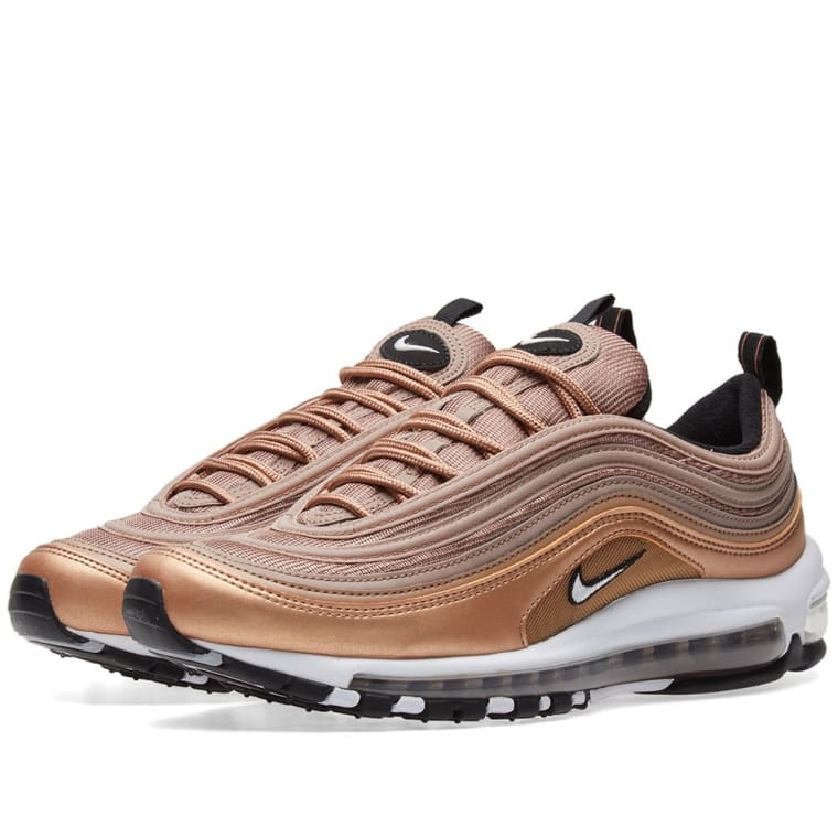 Nike Air Max 97 Desert Dust, White  Bronze 1
