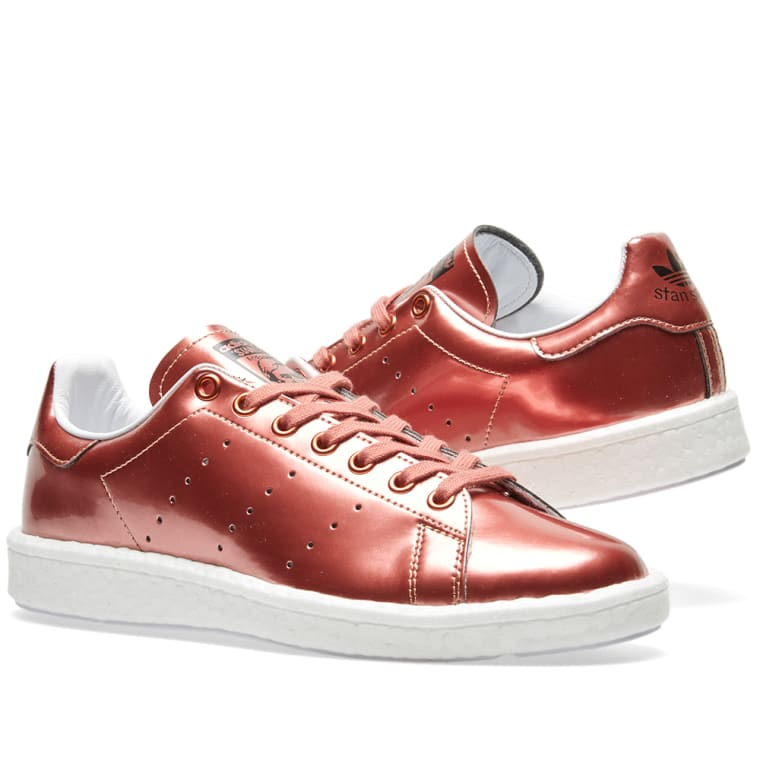 Adidas Women\u0027s Stan Smith Boost W. Copper \u0026 White. $119 $49. Plus Free  Shipping