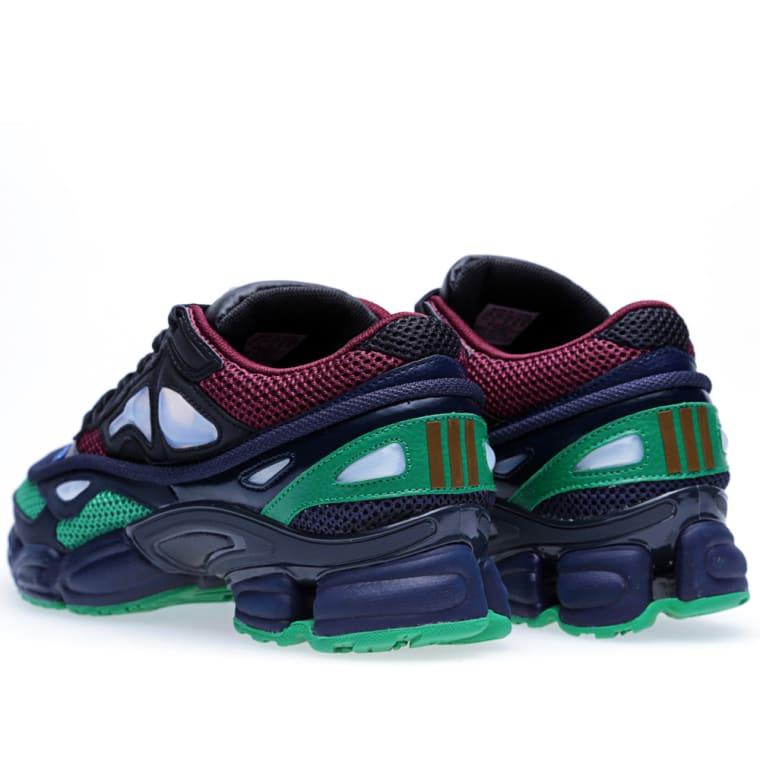 Adidas x Raf Simons Ozweego 2 (Schwarz, Leder & Fairway) |