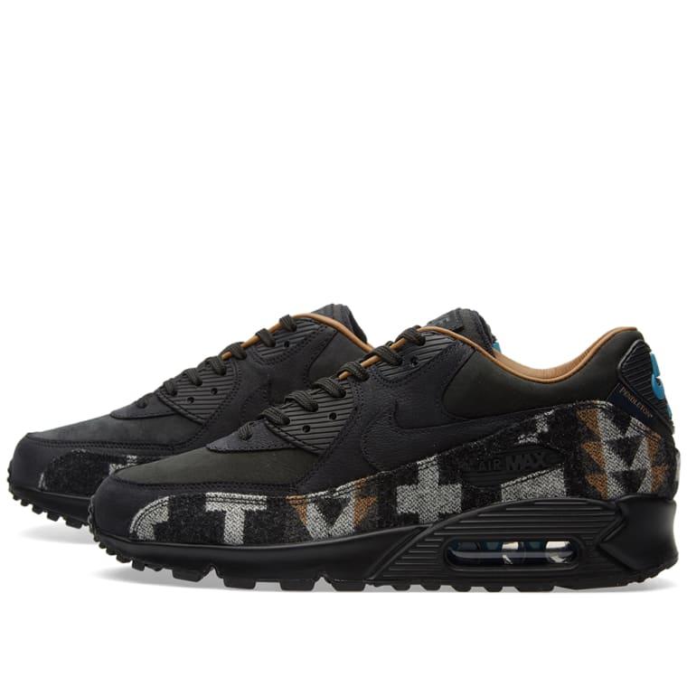 589f1e1e5d ... 2016 release sneakernews bb105 dd09a; where to buy nike x pendleton air  max 90 qs black ale brown 1 4fec6 e456f
