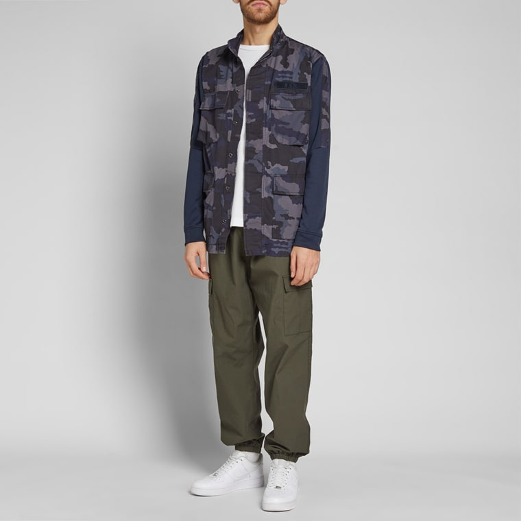 Nike Camo Jacket (Dark Obsidian   White)   END. f16b3e803a70